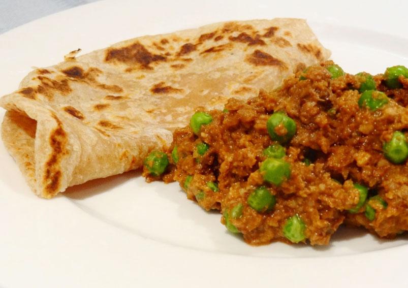 Mutton Keema Matar Recipe