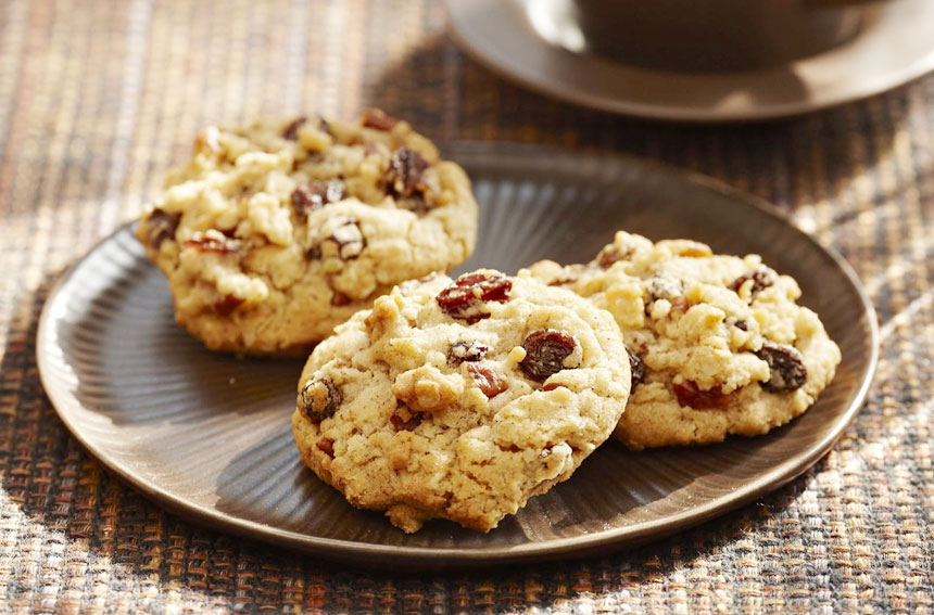 Oats and Raisins Cookie Recipe