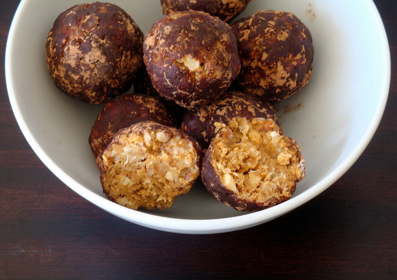 Peanut Butter Oatmeal Energy Bites Recipe