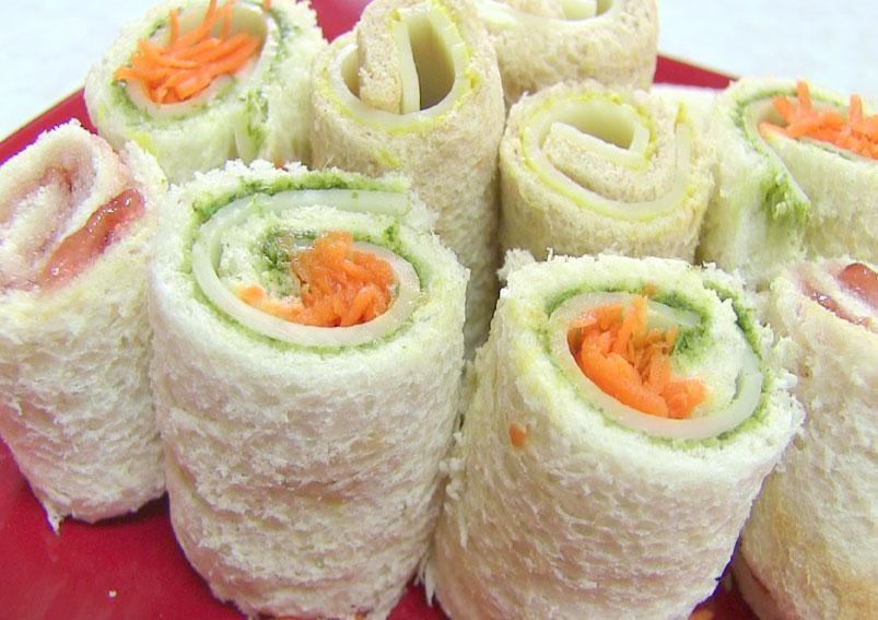 Tasty Pinwheel Sandwich Recipe