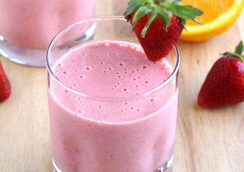 Quick Strawberry Shake Recipe