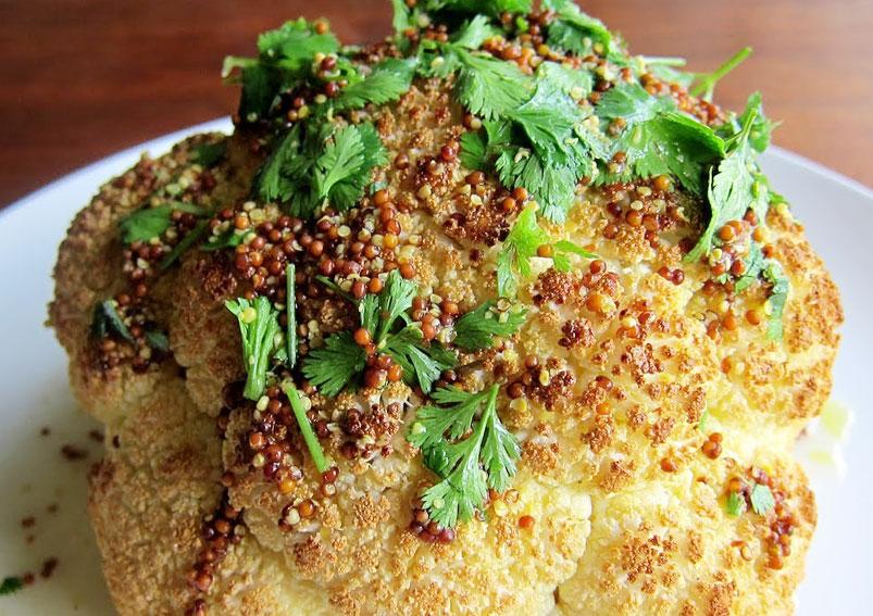 Roasted Cauliflower Recipe