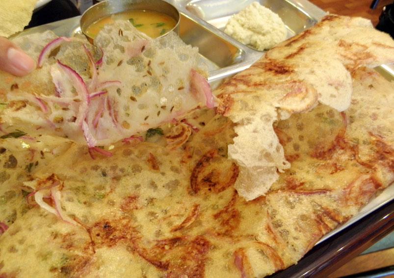 South Indian Breakfast Rava Dosa Recipe