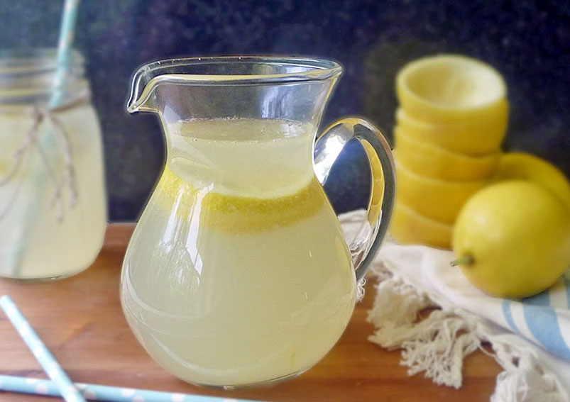 Fresh-Squeezed Lemonade Recipe