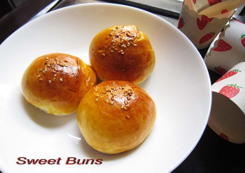 Tasty Sweet Buns Recipe