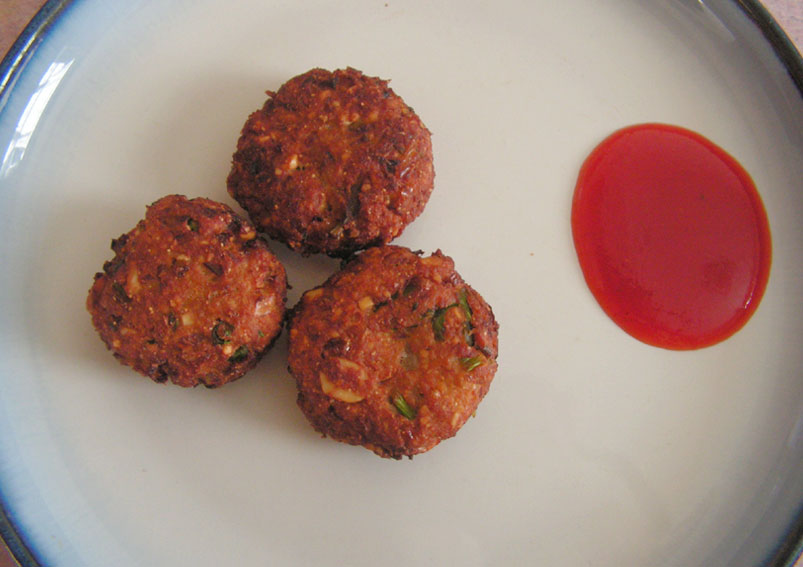 South Indian Special Sweet Corn Vada Recipe