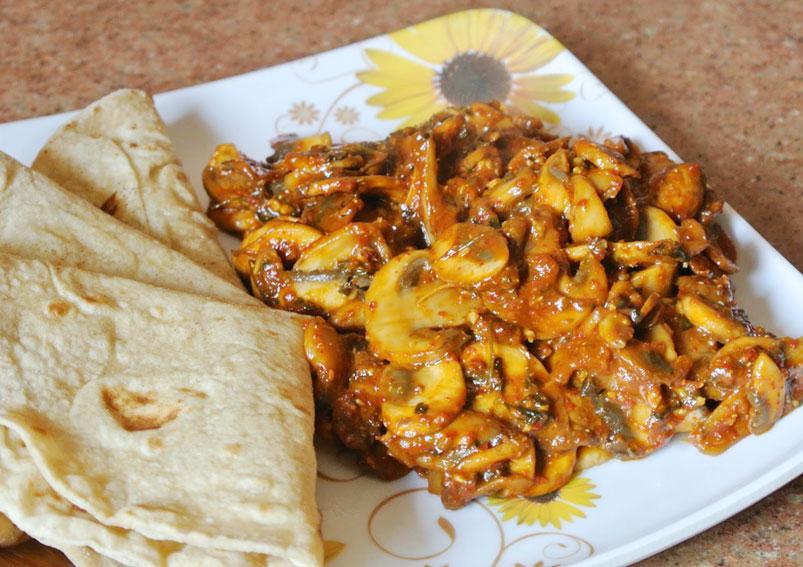 How to Make Tandoori Mushrooms Recipe