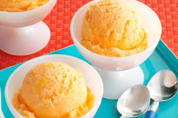 Tasty Orange Ice Cream Recipe