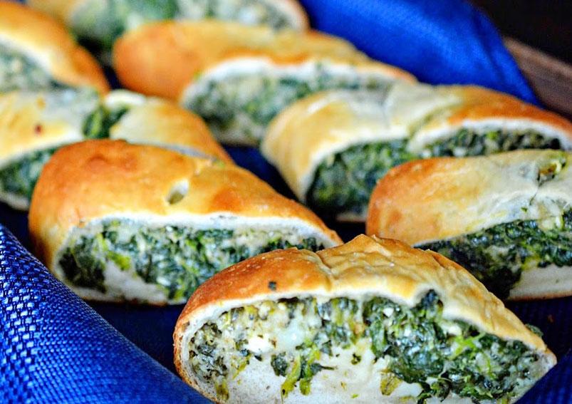 Tasty Spinach Roll Recipe