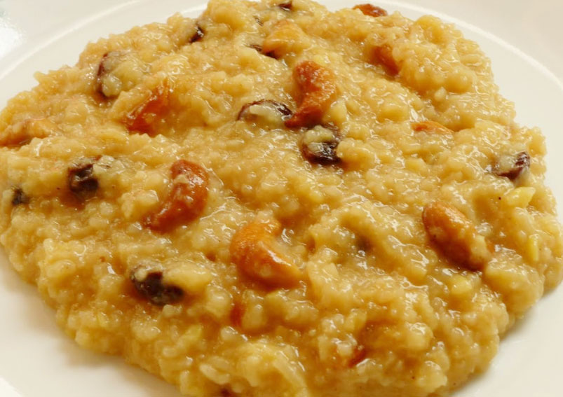Tasty Sweet Pongal Recipe with Jaggery