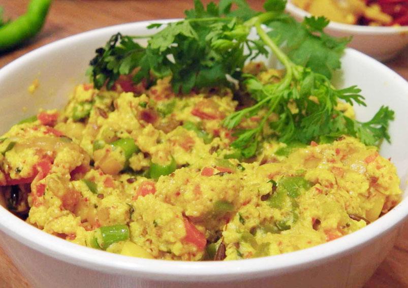 Tasty and Spicy Paneer Bhurji Recipe