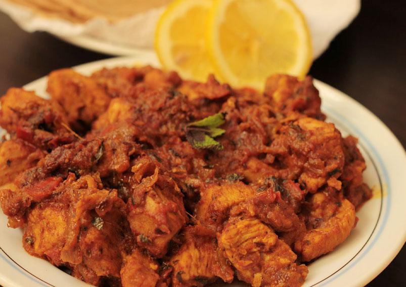 Tawa Chicken Masala Recipe