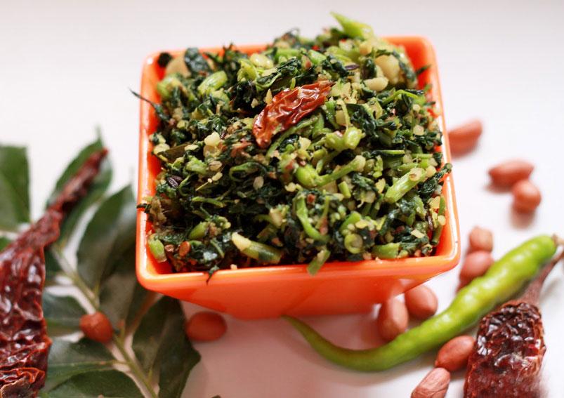 Healthy Amaranth (Thotakura) Fry Recipe