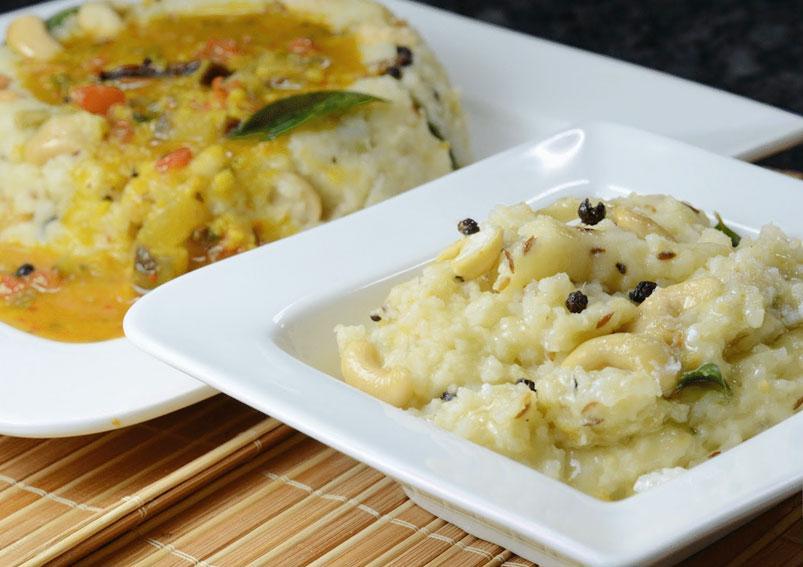 Tasty Ven pongal Recipe