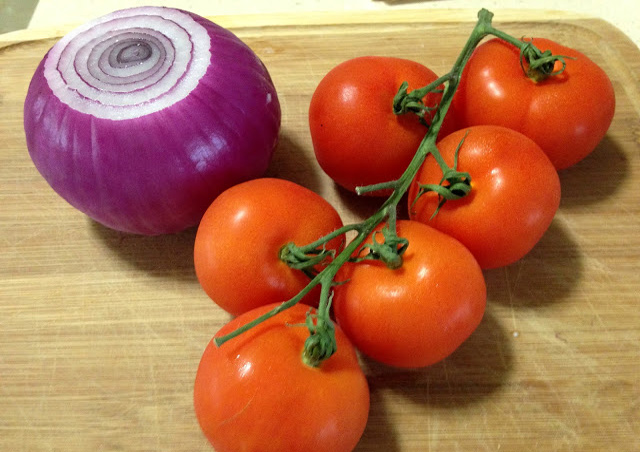 How To Blanch Onions and Tomatoes