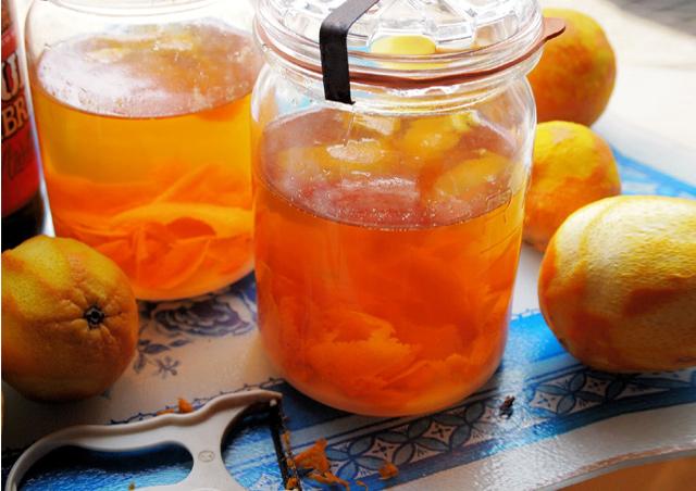 Апельсиновый ликер в домашних условиях на водке