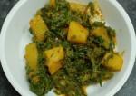 Aloo Palak Recipe   Potato Spinach Food   Punjabi Recipes