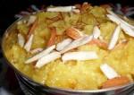 Dussehra Special Badam Sheera Recipe
