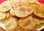 Oven Baked Potato Chips Recipe | Aloo Chips | Snack Food