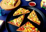 Tasty and Tangy Bread Pizza Recipe