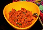 Tasty Carrot Chutney for Dosa