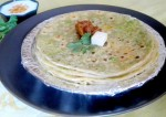 Carrot and Green Pea Paratha Recipe