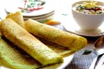 Tasty Cheese Palak Dosa Recipe