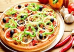 Cheesy Vegetable Pizza Recipe