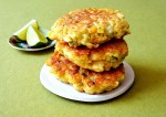 Corn and Chicken Fritters Recipe