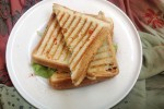 Easy Chili Paneer Sandwich Recipe
