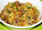 Healthy Corn Bhel Recipe
