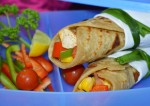 Yummy Stuffed Corn and Capsicum Wrap Recipe