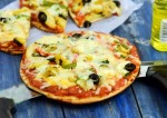 Creamy Corn Pizza Recipe