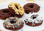 Crispy Chocolate Doughnuts Recipe