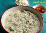 Tasty Coriander Curd Rice Recipe