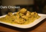 Delicious Dahi Chicken Recipe