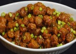 Easy Soya Chunks Manchurian Recipe