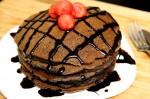 Eggless Chocolate Crepes/ Pancake Recipe