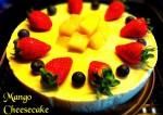 Tasty Eggless Mango Cheesecake Recipe