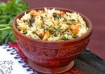 Fenugreek and Mushroom Brown Rice Recipe