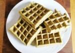 Tasty Green Pea Waffles Recipe