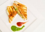 Spicy Vegetable Grilled Sandwich Recipe