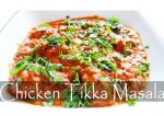 Indian Chicken Tikka Masala Recipe