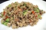 Indo- Chinese Style Mushroom Fried Rice Recipe