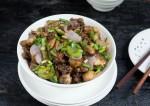 Garlic Pepper Mushroom Stir Fry Recipe