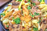 Potato and Mushroom Stir Fry Recipe