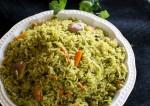 Easy Pudina (Mint) Pulao Recipe | Yummyfoodrecipes.in