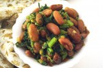 Tasty Rajma and Spinach Stir Fry Recipe