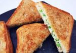 Easy Rajma and Paneer Sandwich Recipe
