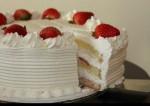 Homemade Simple White Vanilla Cake   Yummy Food Recipes